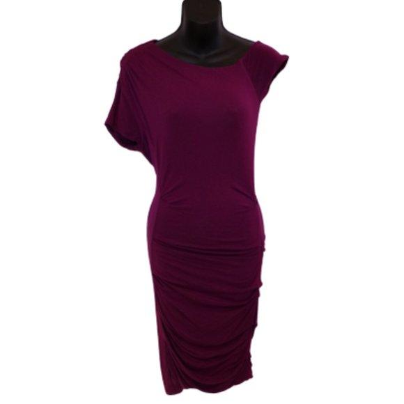 Bebe Stretch Body Con Jersey Dress- Sz. XS